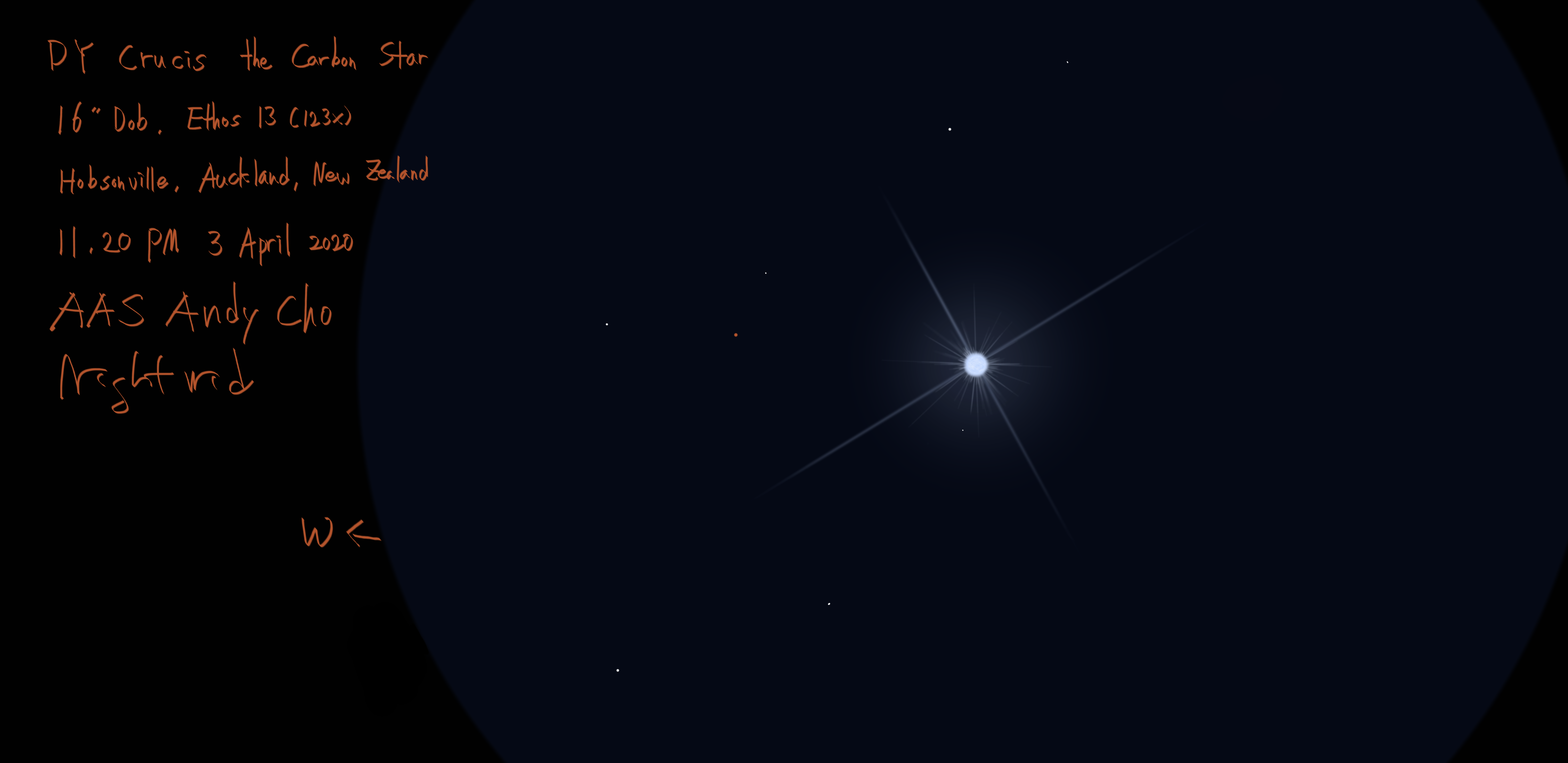 DY Crucis the Carbon star 3 April 2020.png