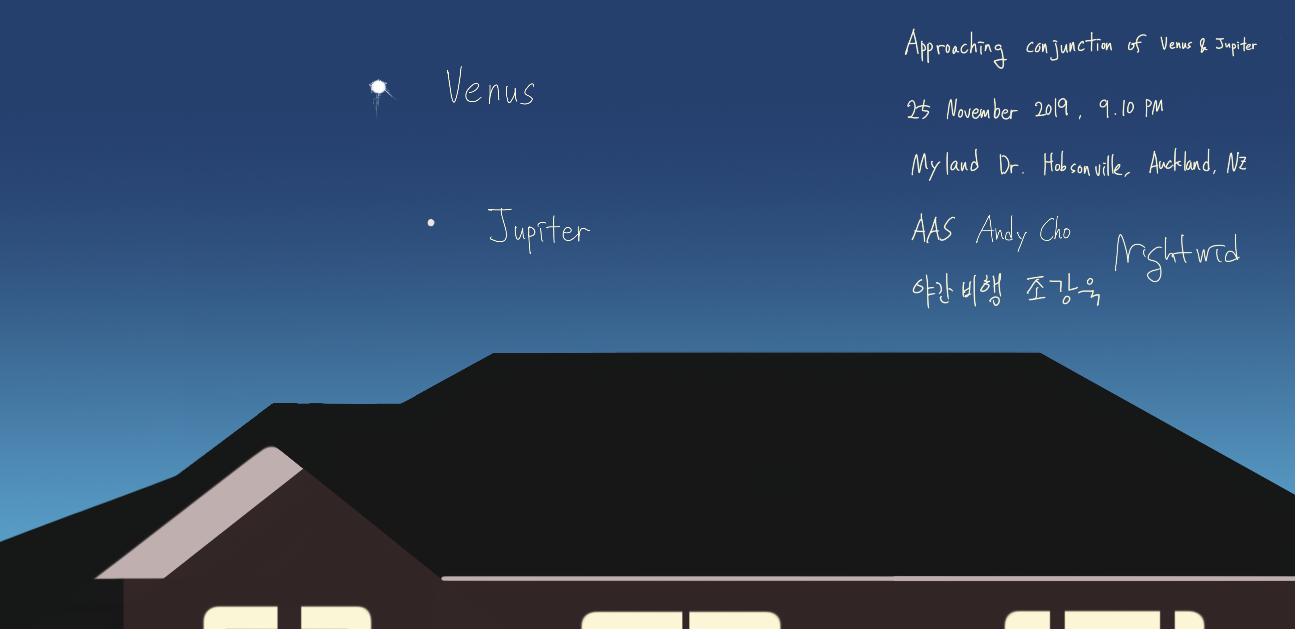 Approaching conjunction of Venus and Jupiter.png